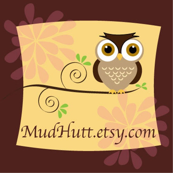 RESERVED- custom listing for crystal -Personalized Little Hoots dish