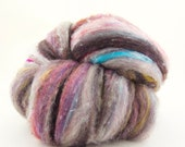 Locally Grown Wool FUSION FIBERS Wools, Silks, Milk, Sparkle  Soft, Textured 4 oz