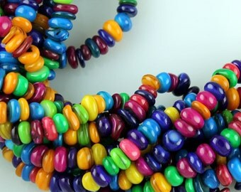Mother of Pearl Dyed Beads