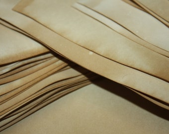 100 sheets of tea stained SHEET PAPER 8 1/2 x 11 Tea Stained Paper Card 110 lb paper weight