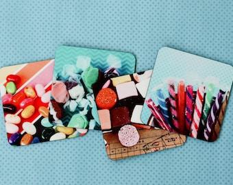 Nostalgic Candy Coasters