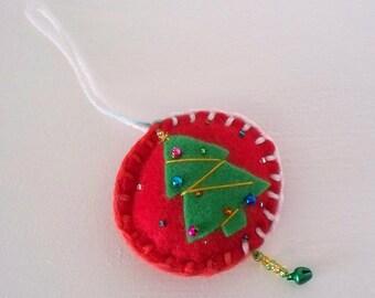 Felt Christmas Ornaments  Felt Christmas Tree Hanging Ornament