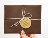 Chocolate Brown A2 Envelopes