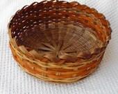 Special Listing for Linda Orange Old Salem Bread Basket in Orange