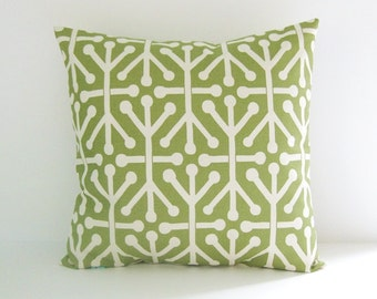 Green Pillow Cover 8 Sizes Available Decorative Couch Pillow Cushion Covers