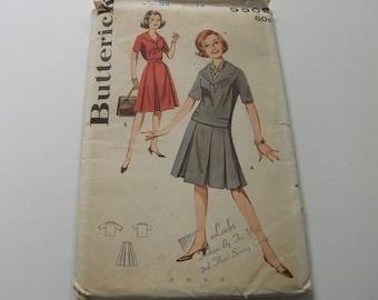 40s Vintage Butterick Dress Pattern 14