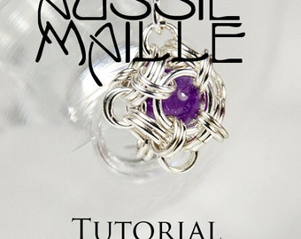 Chainmaille Tutorial - Japanese Orb Earrings