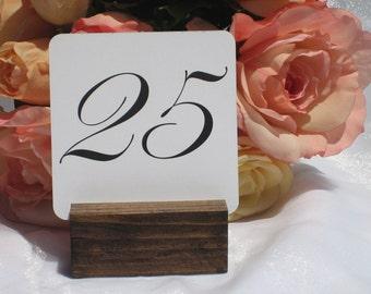 Rustic Table Number Holder + Rustic Wedding Table Number Holder (Set of 10) ON SALE