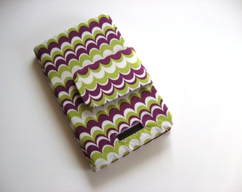 Purple and Green Original Nook Cover Stand Ready to Ship clearance