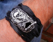 Mens Belt Buckle Style Bracelet, Mens Belt Buckle Wrap Bracelet, Rustic Mens Jewelry, Rustic Mens Belt Buckle Bracelet, Gifts for Him Men