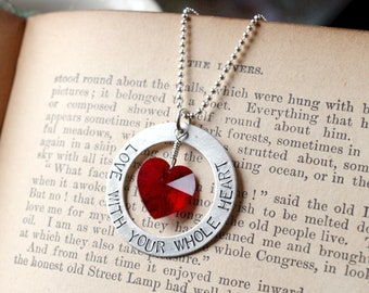 Love With Your Whole Heart Necklace