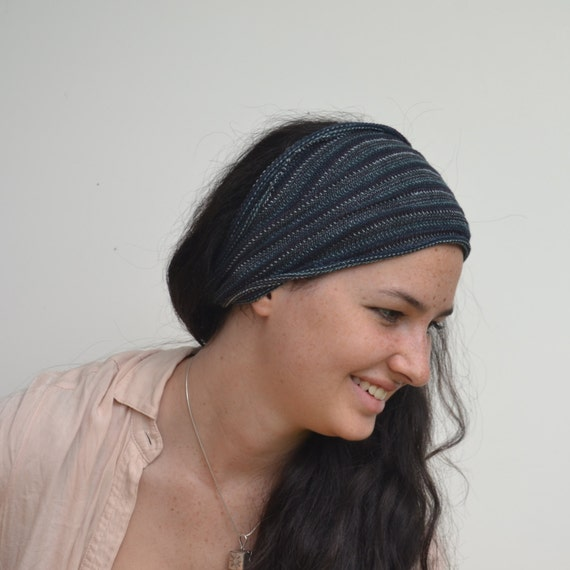 Dread Wrap / Headband in Slate