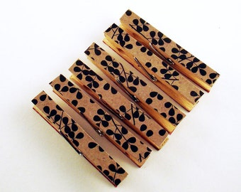 Altered Clothespins Decorative Clothespin Magnets  in  Moda