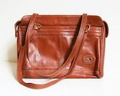 Vintage Cognac Leather Purse