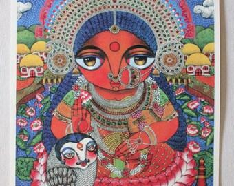 Maa Lakshmi (Goddess of wealth) PRINT