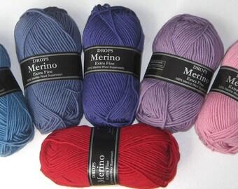 Drops Merino Extra Fine Superwash Yarn