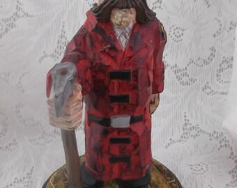 David Frykman Style Fire Chief Resin Figurine - No Label