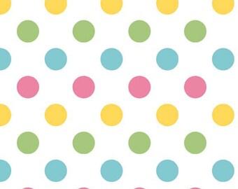 Riley Blake Designs, Medium Dots Girl (C360 03)