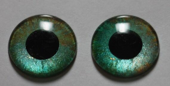 Handpainted custom Blythe eyechips no.247 by Moofala