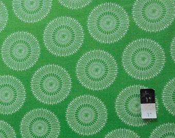 Tina Givens PWTG134 Starflakes & Glitter Stardust Evergreen Cotton Fabric 1 Yard