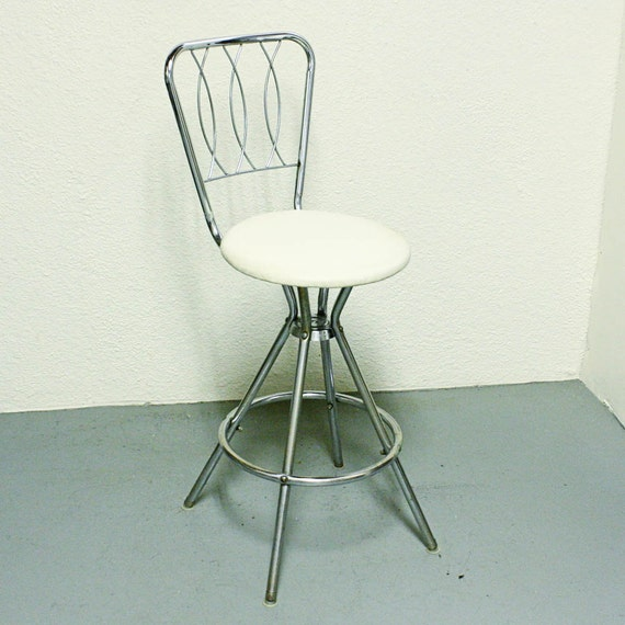 Vintage Kitchen Stool Stool Chair Bar Stool By Oldcottonwood