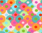 Circles/Multi FLANNEL by Valori Wells - Bliss Flannel Collection - One Half Yard