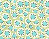 Kalidoscope Dots/Leaf by Amy Buter - Daisy Chain Collection - One Half Yard