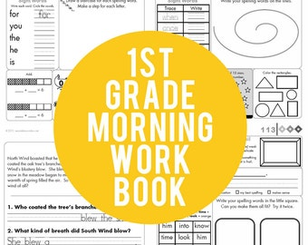 1st Grade Common Core Morning Work Book