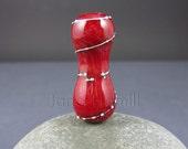 """Lampwork bead, """"Talutah"""" art glass pendant or focal, FHFteam Y3, GBUK, SRA"""