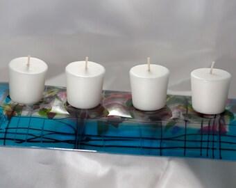 Candle Bridge Blue Confetti