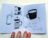 A coloring book of Coffee