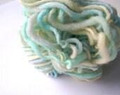 TARTE AU CITRON (Lemon Cake) - Mini skein handspun yarn