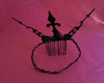 Gothic Clockhand Crown Tiara SALE