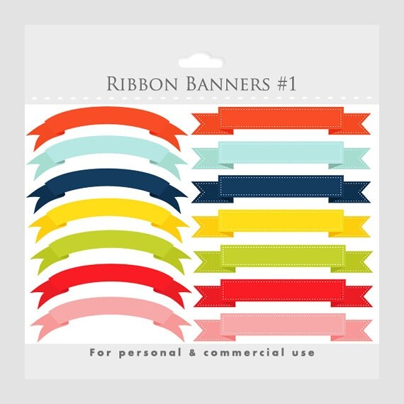 ribbon banner graphic