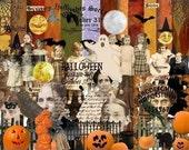 Digital Kit- No.11  Halloween-For Digital Art Over 75 Elements PNG files-Instant Download