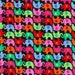 Elephants Up and Down Mini on Black Timeless Treasures Fabric 1 yard LAST IN STOCK