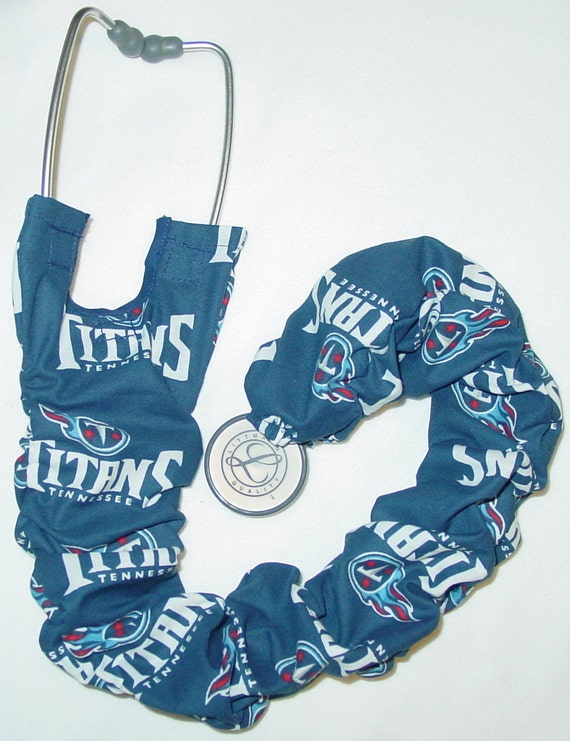 Stethoscope Cover Titans Tennessee Football NFL Sports