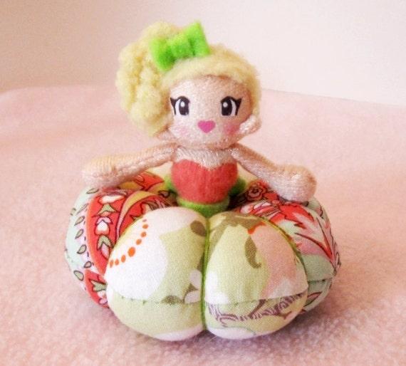 Pincushion Doll Dress Plush: Summer