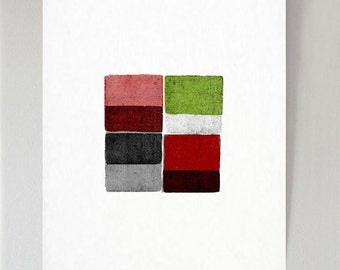 Four Blocks 2 - print