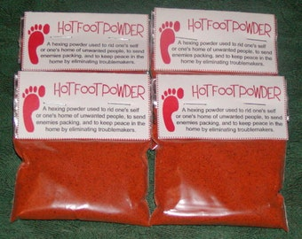 Hot Foot Powder - 1 Ounce - Binding and Dark Magick