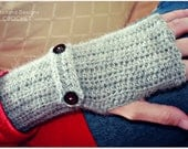 Download Now - CROCHET PATTERN Felicity Mitts - Ladies Size - Pattern PDF