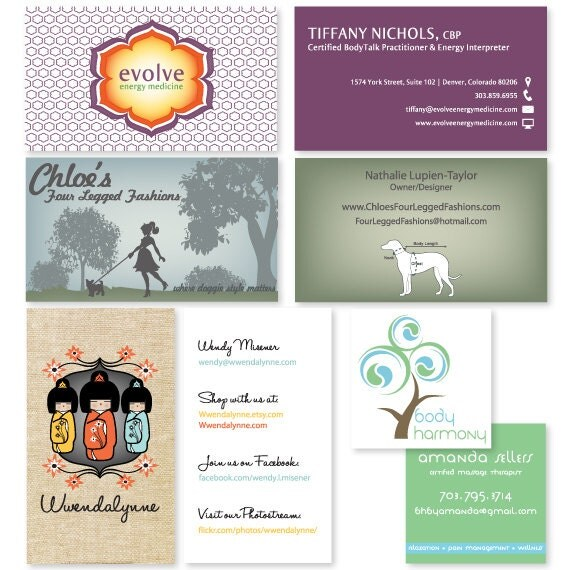 Custom Business or Calling Card Design