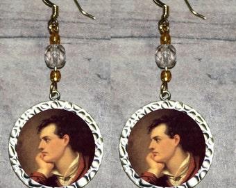Lord Byron Earrings