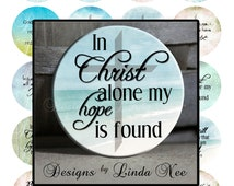 Pinback BUTTON Images 2.25 inch round 2.625 overall size - CHRISTian Truths Digital Collage Sheet AMERICAN BUTTON Machine Tecre