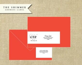 The Address Label - Shimmer