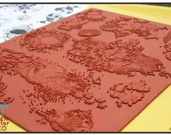 Splatter Graffiti  Set 004 Grunge Rubber Stamps