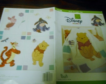 Disney Crochet Pattern Leaflet Pooh Snuggle Ups Leisure Arts 3270 Crochet Pattern Leaflet Rare and HTF