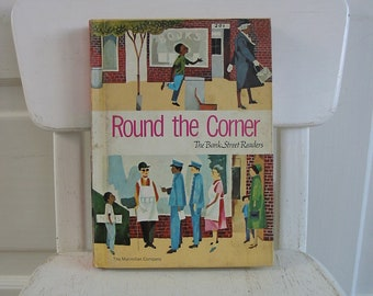 Vintage Child Book Reader School Sixties