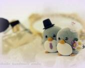penguin cake topper---Special Edition (K204)