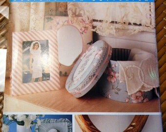 Pattern -  Better Homes and Gardens Designs for Butterick - Craft - Picture Frames